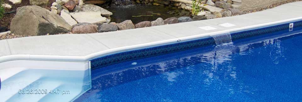 Custom swimming pools jefferson kenosha milwaukee for Swimming pool design xls