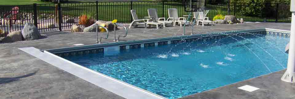 Custom Swimming Pools Racine County